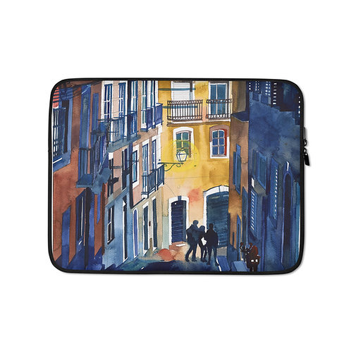 "Laptop sleeve ""Lisbon"" by Takmaj"
