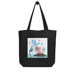 """Tote bag """"Mermaid Girl"""" by Pigliicorn"""