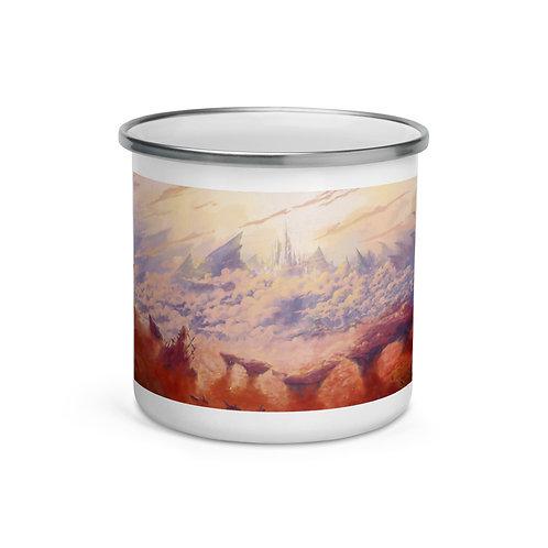 "Enamel Mug ""Last Dungeon"" by Ashnoalice"