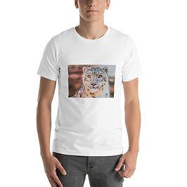 """T-Shirt """"Snow Leopard"""" by Beckykidus"""