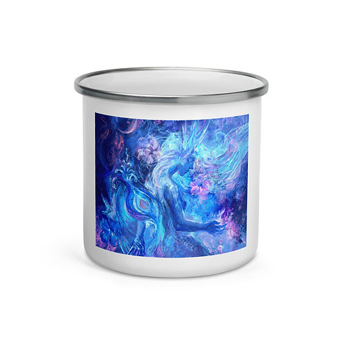 """Enamel Mug """"Mermaids Wintertale"""" by Solar-sea"""