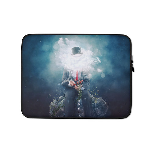 """Laptop sleeve """"Patience"""" by Aegis-Illustration"""