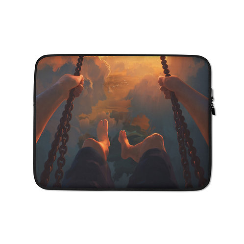 """Laptop sleeve """"View From Above"""" by RHADS"""