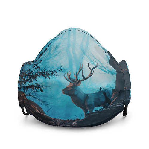 """Mask """"Blue Forest"""" by Hotamr"""