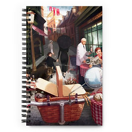 """Notebook """"Rue The Day"""" by JeffLeeJohnson"""