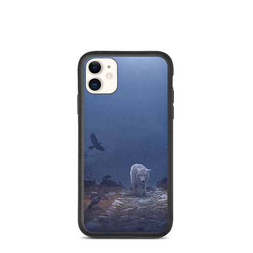 """iPhone case """"The Hill of the Ravens"""" by Elysekh"""