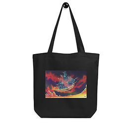 "Tote bag ""Night Cruise"" by Ashnoalice"