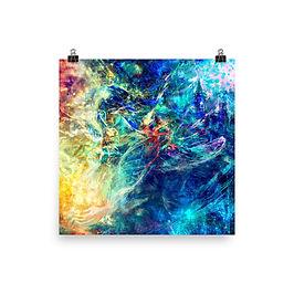 "Poster ""My Indigo"" by Solar-sea"