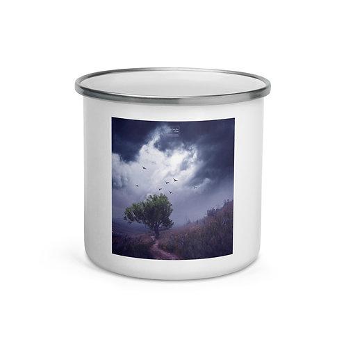 "Enamel Mug ""The Strong Tree"" by Elysekh"