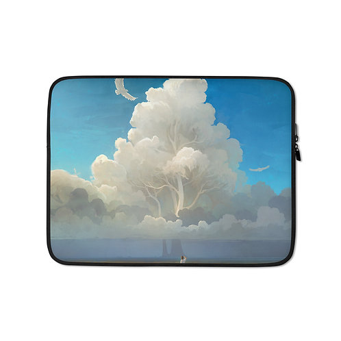 """Laptop sleeve """"Nature Salvation"""" by RHADS"""