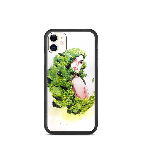 "iPhone case ""Greens"" by Bikangarts"
