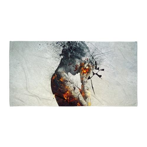 "Beach Towel ""Deliberation"" by ""Aegis-Illustration"""