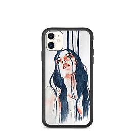"iPhone case ""Overflow"" by Bikangarts"