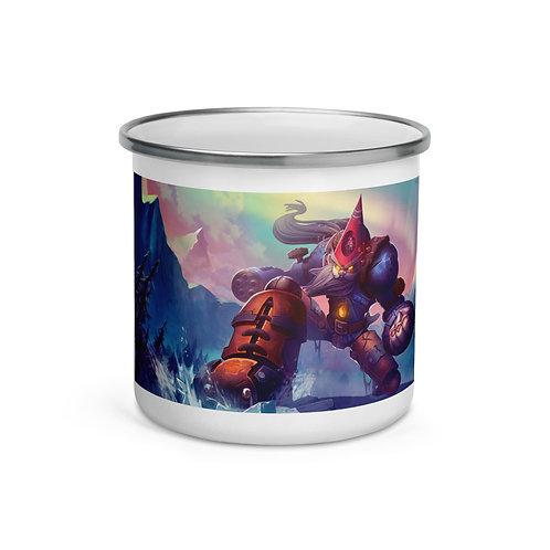 "Enamel Mug ""Gnomish Ancient Guardian"" by ""DasGnomo"""