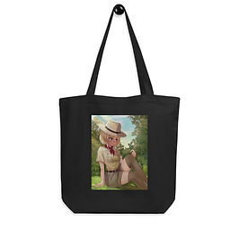 """Tote bag """"Park Ranger Chen"""" by Pigliicorn"""