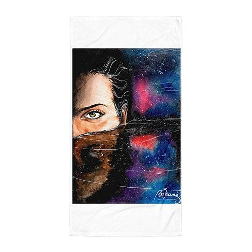 "Beach Towel ""Deep"" by Bikangarts"