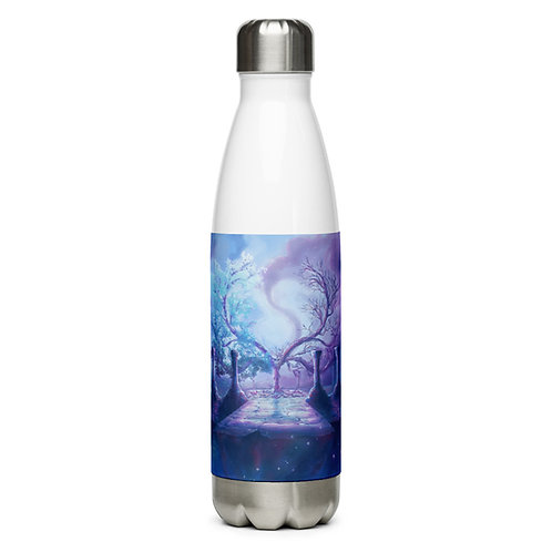 "Water Bottle ""Crescent Tree"" by Ashnoalice"