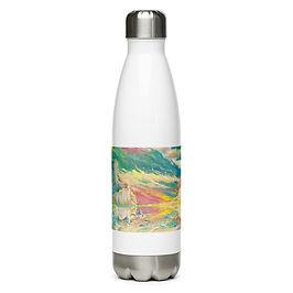 """Water Bottle """"Good Morning"""" by Ashnoalice"""