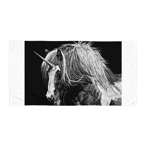 "Beach Towel ""Unicorn"" by Beckykidus"