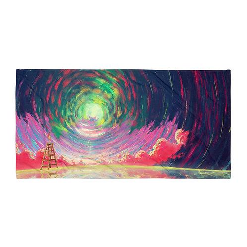 "Beach Towel ""Rewrite the Sky"" by Ashnoalice"