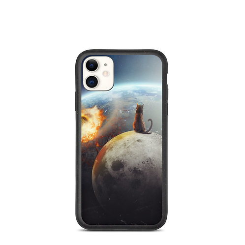 """iPhone case """"Cat Victory"""" by Hotamr"""