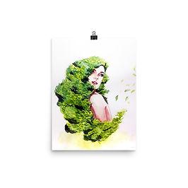"Poster ""Greens"" by Bikangarts"