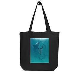 "Tote bag ""Pearl Diver"" by ""vashperado"""