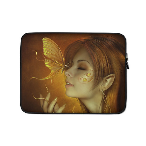 "Laptop sleeve ""Mariposas"" by ElenaDudina"