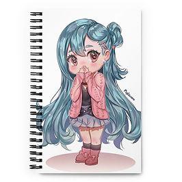 "Notebook ""OC - Chibi"" by Pigliicorn"
