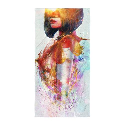 "Beach Towel ""Deja Vu"" by ""Aegis-Illustration"""