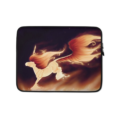 """Laptop sleeve """"Floaty Boat"""" by Astralseed"""