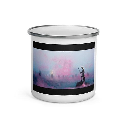 "Enamel Mug ""Fisherman"" by Dark-indigo"