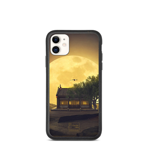 """iPhone case """"The Magic of the Supermoon"""" by Elysekh"""