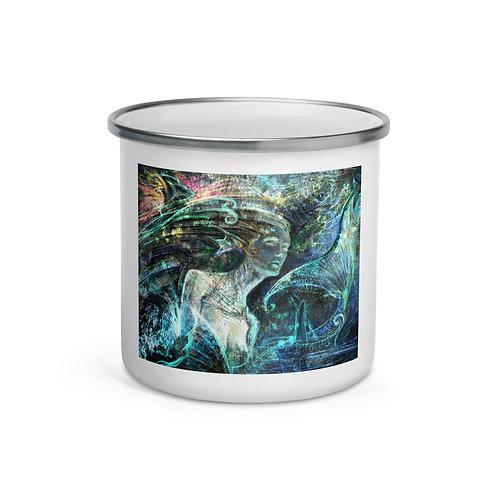 "Enamel Mug ""Sea Spiritual"" by Solar-sea"