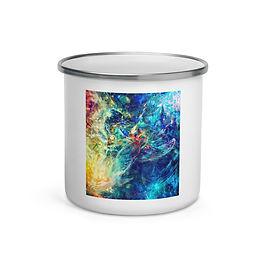 """Enamel Mug """"My Indigo"""" by Solar-sea"""