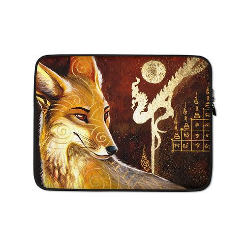 "Laptop sleeve ""culpeo fox"" by Culpeo-Fox"