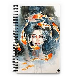 "Notebook ""I Drew Kelogs"" by Bikangarts"