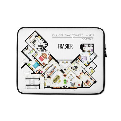 """Laptop sleeve """"Frasier"""" by NikNeuk"""