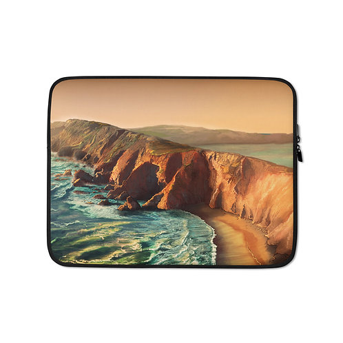"""Laptop sleeve """"Tomales Point"""" by Chateaugrief"""