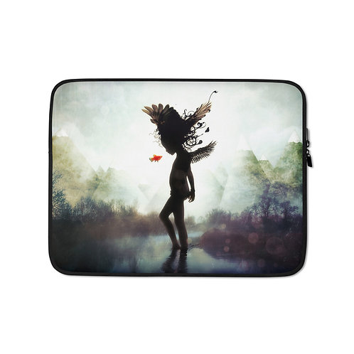 """Laptop sleeve """"Discovery"""" by Aegis-Illustration"""