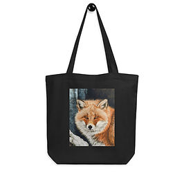 """Tote bag """"Red Fox Fire and Frost"""" by Beckykidus"""