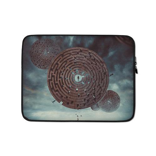 "Laptop sleeve ""The Maze"" by Hotamr"