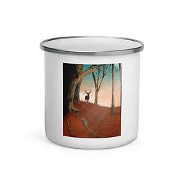 """Enamel Mug """"Hunter Dream"""" by Saddielynn"""