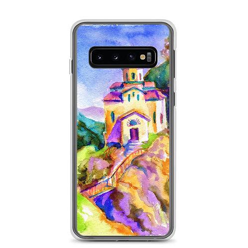"Samsung Case ""Brightside Temple"" by Solar-sea"