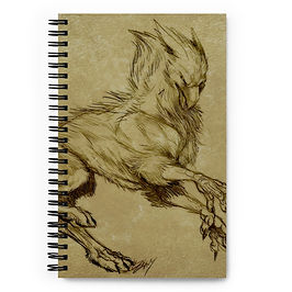 """Notebook """"Printing"""" by Lizkay"""