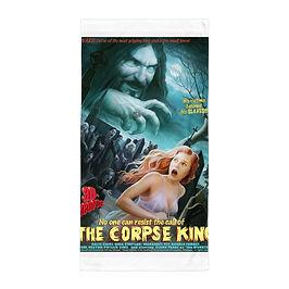 "Beach Towel ""The Corpse King"" by ""JeffLeeJohnson"""