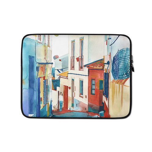 "Laptop sleeve ""Algarve"" by Takmaj"
