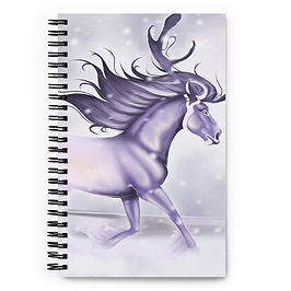 """Notebook """"Arctic Ghost"""" by Astralseed"""