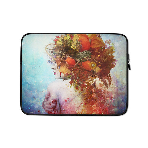 """Laptop sleeve """"Compassion"""" by Aegis-Illustration"""