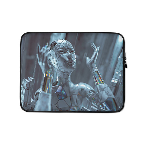 """Laptop sleeve """"Fragments"""" by Thebakaarts"""